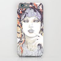 iPhone & iPod Case featuring Spring fashion portrait by Ioana Avram