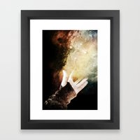 On your dreams, Framed Art Print