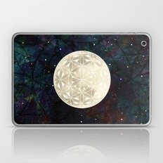 The Flower Of Life Moon … Laptop & iPad Skin