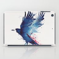 iPad Case featuring Bloody Crow by Robert Farkas