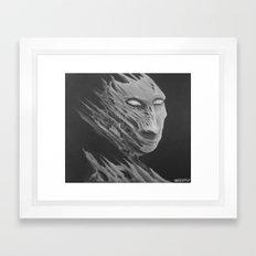 Mr Gray Framed Art Print