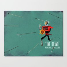 The Time Travelling Pirate Canvas Print