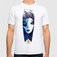 Dos Caras Mens Fitted Tee Ash Grey SMALL