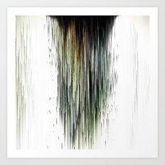 Planet Pixel Dust Up Art Print
