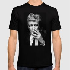 David Lynch Mens Fitted Tee Black SMALL