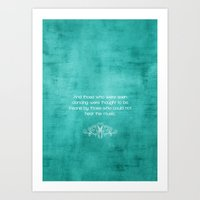 Quoted  Art Print