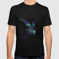 Dragon Mens Fitted Tee Tri-Black SMALL