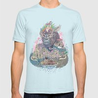 Ceremony Mens Fitted Tee Light Blue SMALL