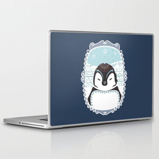 Messer Pinguino Laptop & iPad Skin