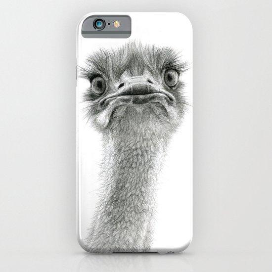 Cute Ostrich SK053 iPhone & iPod Case
