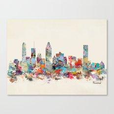 Montreal Quebec skyline Canvas Print