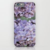 iPhone Cases featuring Lilacs by Joke Vermeer