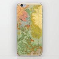 Vintage Southwest Map iPhone & iPod Skin