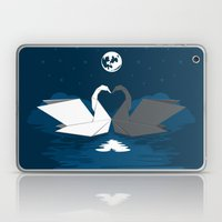 Origami Lake Laptop & iPad Skin
