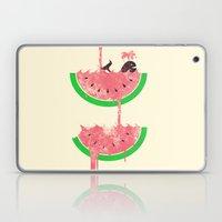 watermelon falls Laptop & iPad Skin
