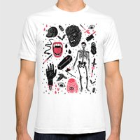 Whole Lotta Horror Mens Fitted Tee White SMALL