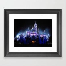 Sleeping Beauty's Winter… Framed Art Print