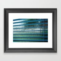 Too Cold To Get Out Of B… Framed Art Print