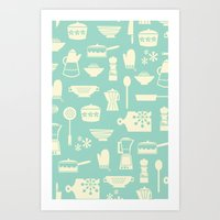 Kitchen Culture Art Print