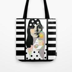B & W Tote Bag