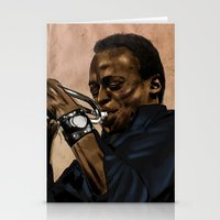 Miles, Jazz Will Never B… Stationery Cards