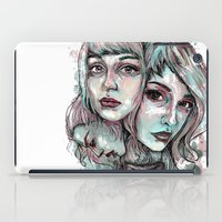 Faces and Color iPad Case