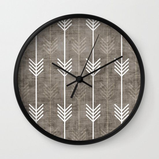 dirty arrows Wall Clock