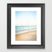 Rods Framed Art Print