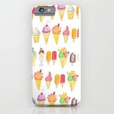 Watercolour Ice Cream Slim Case iPhone 6s
