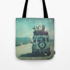 NEVER STOP EXPLORING II Tote Bag