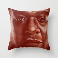 ghost dog! Throw Pillow