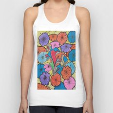 AUTISM OF PEACE AND LOVE Unisex Tank Top