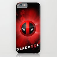 iPhone & iPod Case featuring Deadpool by lovetoclick