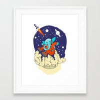 kukul Framed Art Print