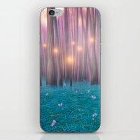 Pink Feather Dance iPhone & iPod Skin