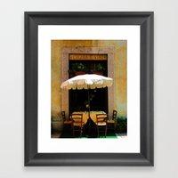 Cucina E Vini Framed Art Print