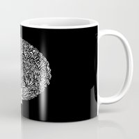 Black And White Tree Mug