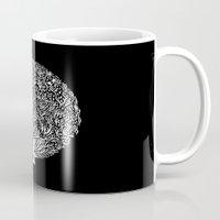 Black and White Tree Mug
