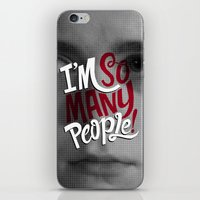 I'm So Many People iPhone & iPod Skin