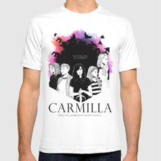 Carmilla SMALL White Mens Fitted Tee