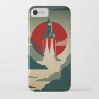 animal skull iPhone & iPod Cases featuring The Voyage by The Art of Danny Haas