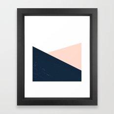 BLUE-ROSE Framed Art Print