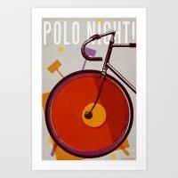 Polo Night! | Track Art Print