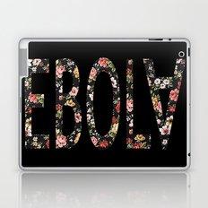 Floral Ebola Laptop & iPad Skin