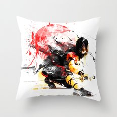 Ninja Japan Throw Pillow