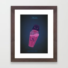 Hades | Villains do It Better Framed Art Print