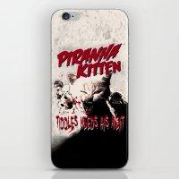 Pirahna Kitten iPhone & iPod Skin