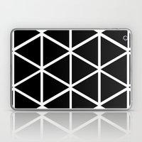 BLACK & WHITE TRIANGLES 2 Laptop & iPad Skin