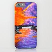 Sunset Harbor iPhone 6 Slim Case