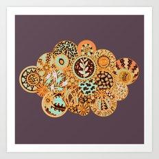 Life is a Circle Art Print